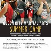 Queen City Martial Arts Summer Camp