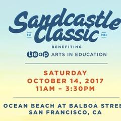 Annual Leap Sandcastle Classic at Ocean Beach