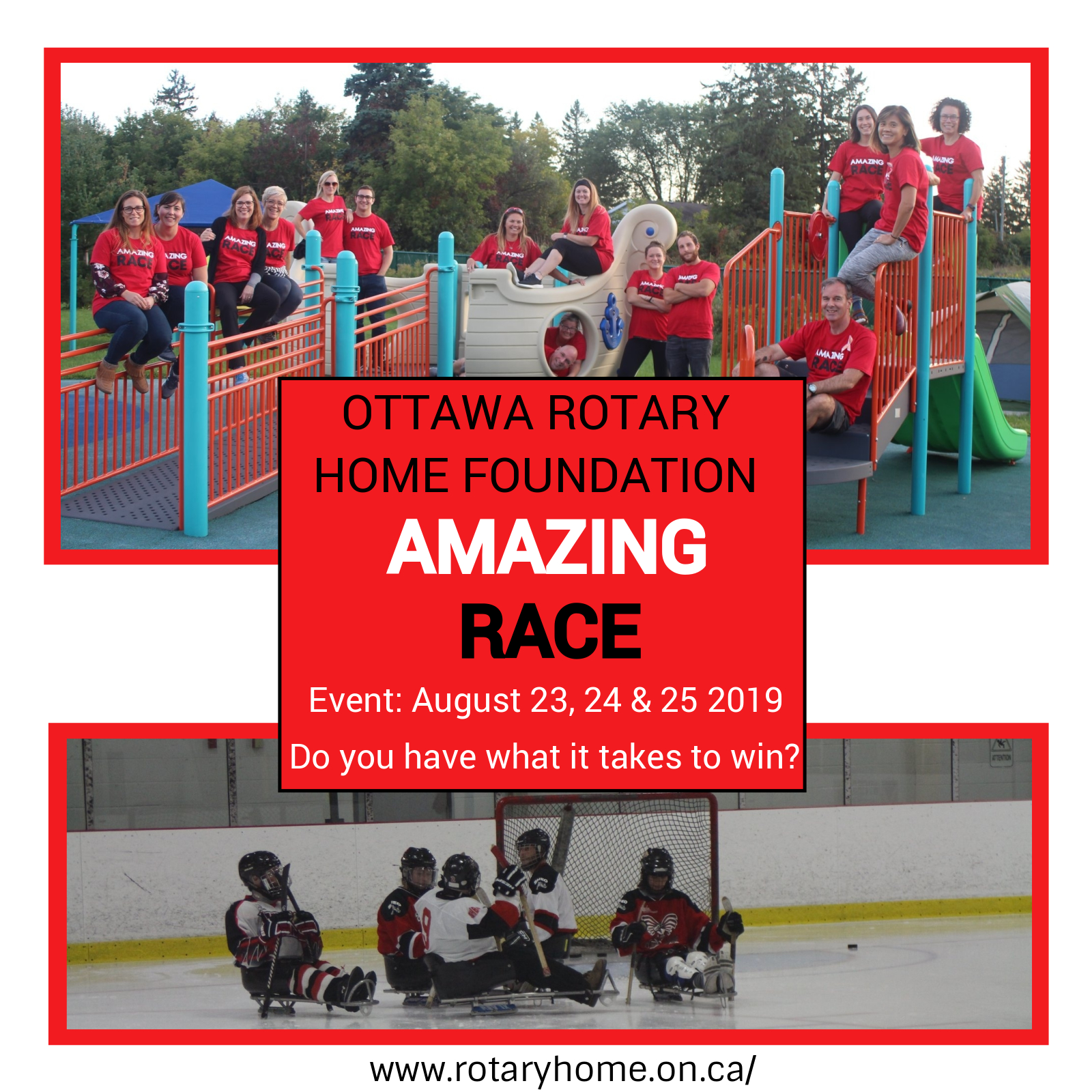 Amazing Race In Support Of Ottawa Rotary Home Foundation