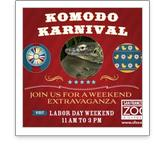 Komodo Karnival at SF Zoo